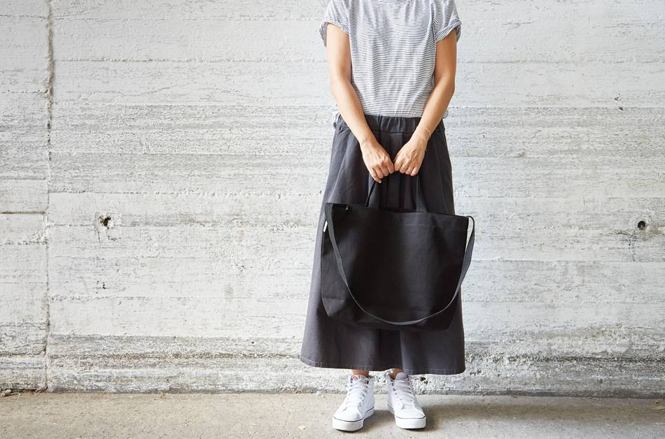 "42Avenue Große  Canvas Tote Bag ""black"""