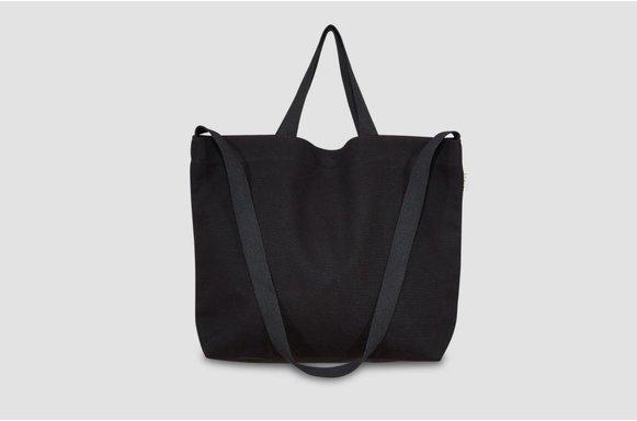 """Große  Canvas Bag """"black"""""""