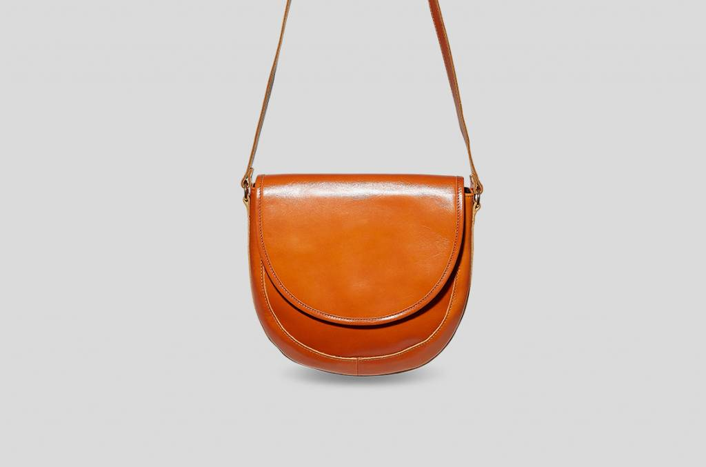 Braune Saddle Bag