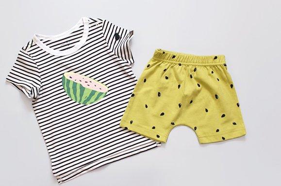 """Kokkacharm Kurzer Loungewear-Pyjama """"Juju Watermelon"""""""