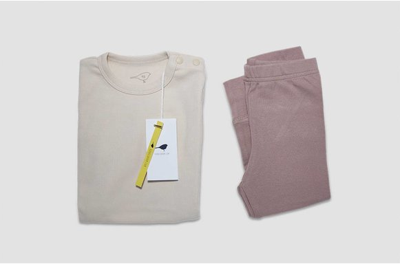 "Kinder Loungewear ""Soft Milk"""