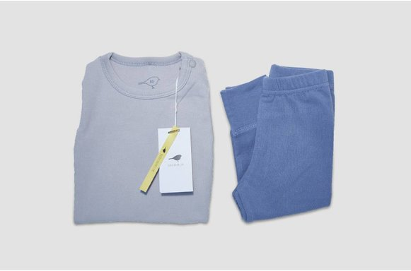 "Kinder Loungewear ""Soft Blue"""