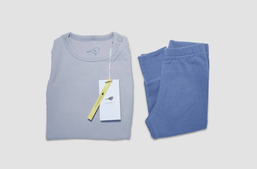 "Kokkacharm Loungewear Pyjama ""Soft Blue"""