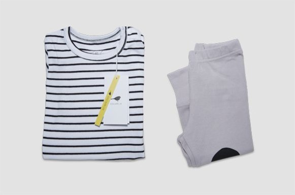 "Kinder Loungewear ""Mild Stripe"""