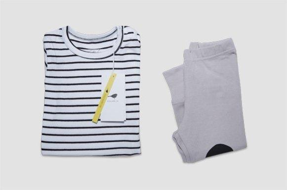 "Kinder Loungewear ""Mild Stripe"""