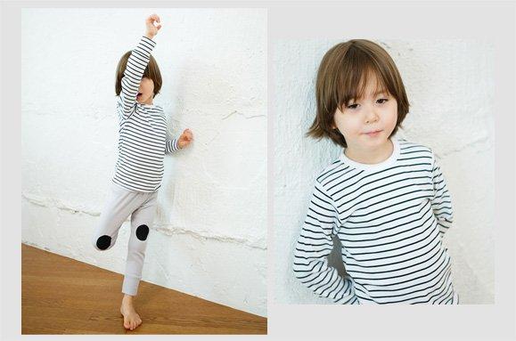 "Kokkacharm Loungewear Pyjama ""Mild Stripe"""