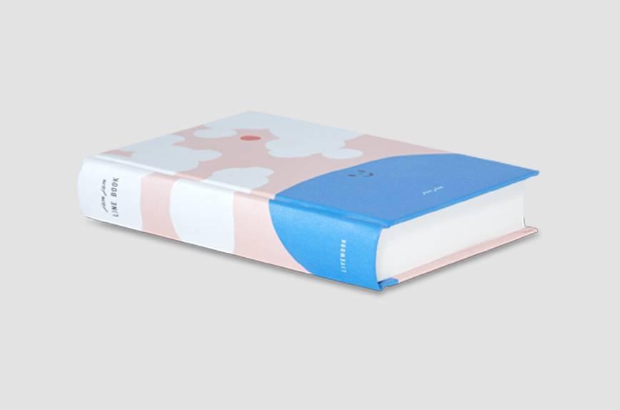 "Livework Hardcover Notizbuch ""Lake"""