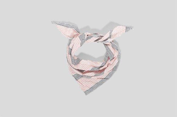 """Dreiecks-Halstuch """"Pink"""""""