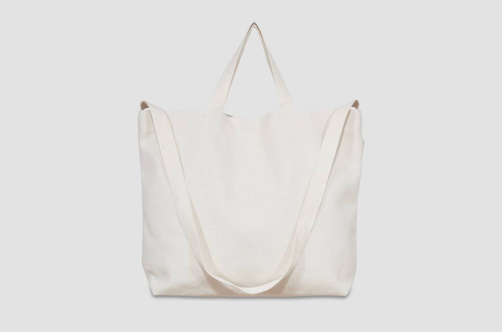 "42Avenue Große  Canvas Tote Bag ""ivory"""