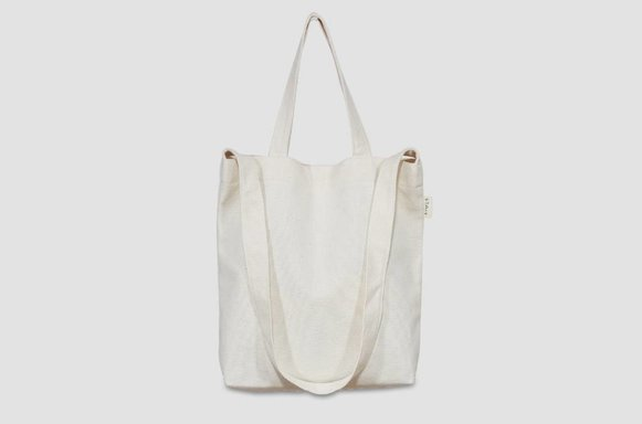 "Kleine Canvas Bag ""ivory"""