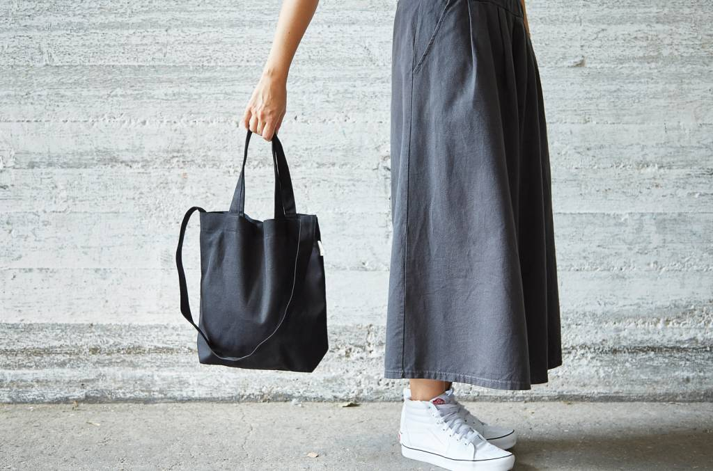 "42Avenue Kleine Canvas Tote Bag ""black"""