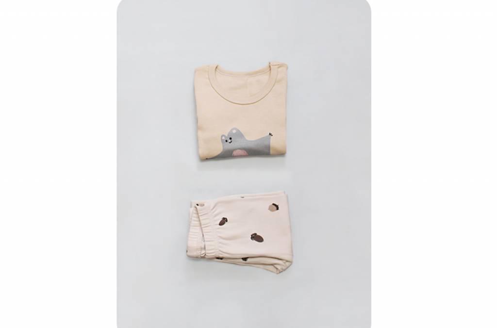 "Kokkacharm Kinder Loungewear ""Eichhörnchen"""