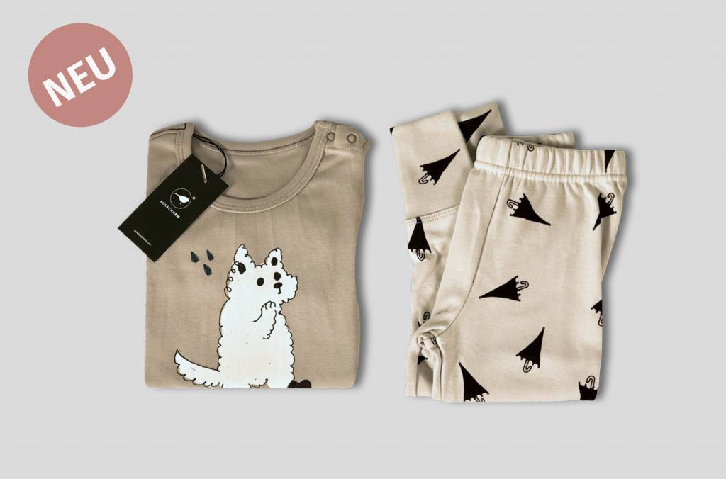 "Kokkacharm Kinder Loungewear ""Puppy"""