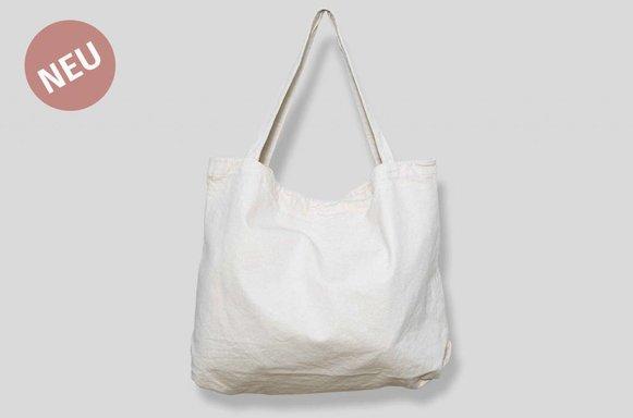 "Giant Canvas Bag ""ivory"""