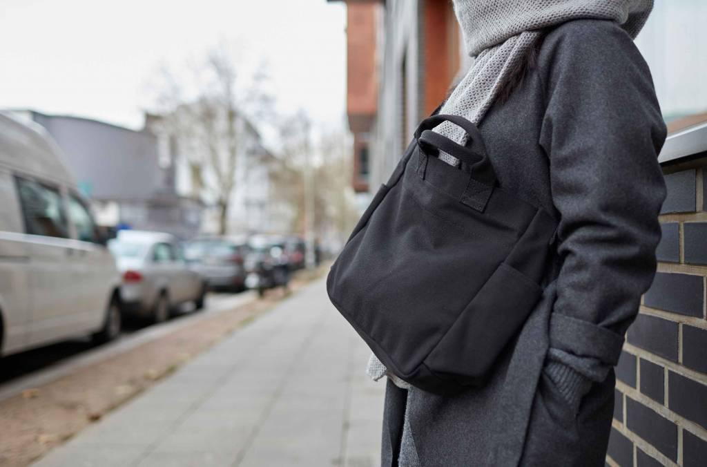 "Tumbler Canvas Bag ""black"""