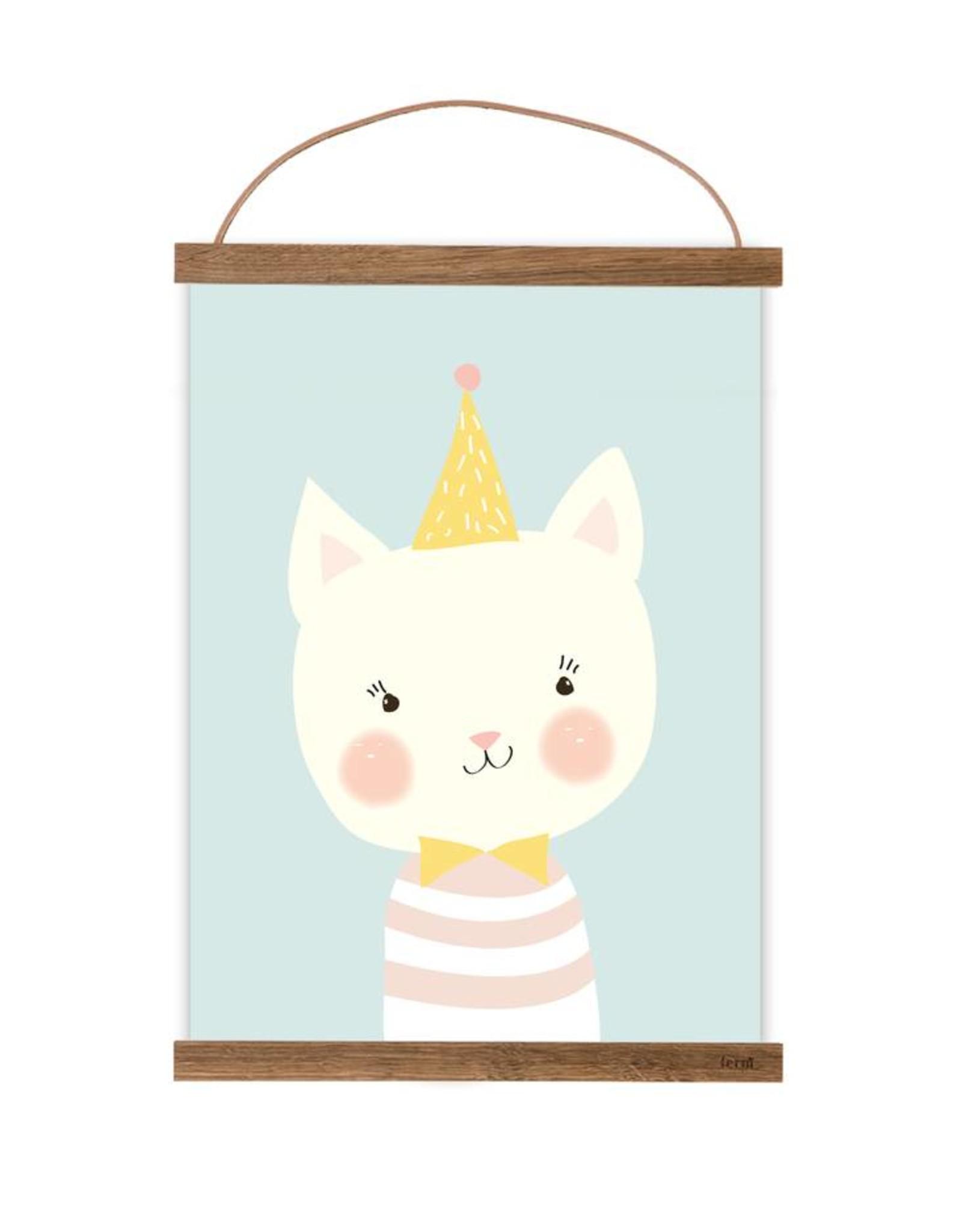 Poster für's Kinderzimmer-Kleine Katze
