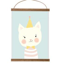 print for kidsroom  Little Cat