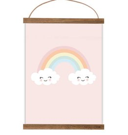 Poster Happy Rainbow