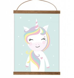 Poster Little Miss Unicorn