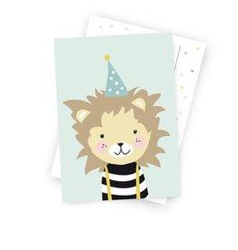 Postkarte - Kleiner Löwe