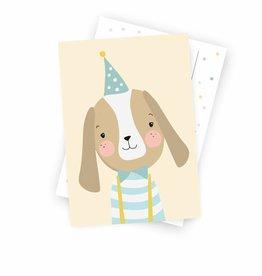 Postkarte - Herr Hund