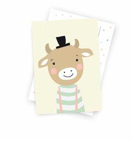 Postkarte - Kleiner Bulle