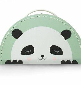 Kinderkoffer Panda mint
