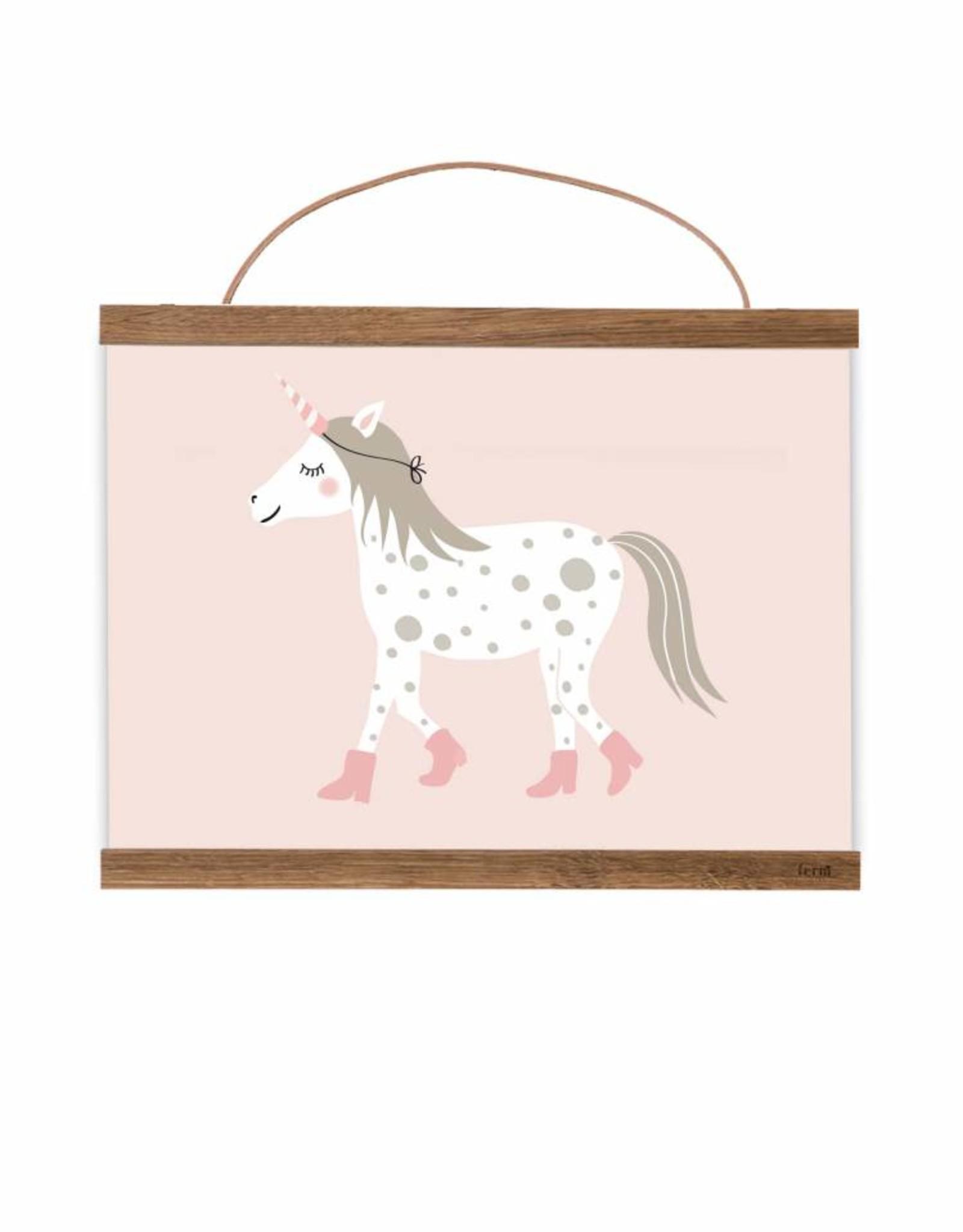 Print for Kidsroom Little unicorn