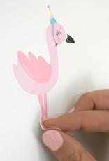 Wandsticker Frieda Flamingo- für tolle Akzente an der euren Wänden