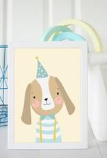 Poster für's Kinderzimmer - Herr Hund