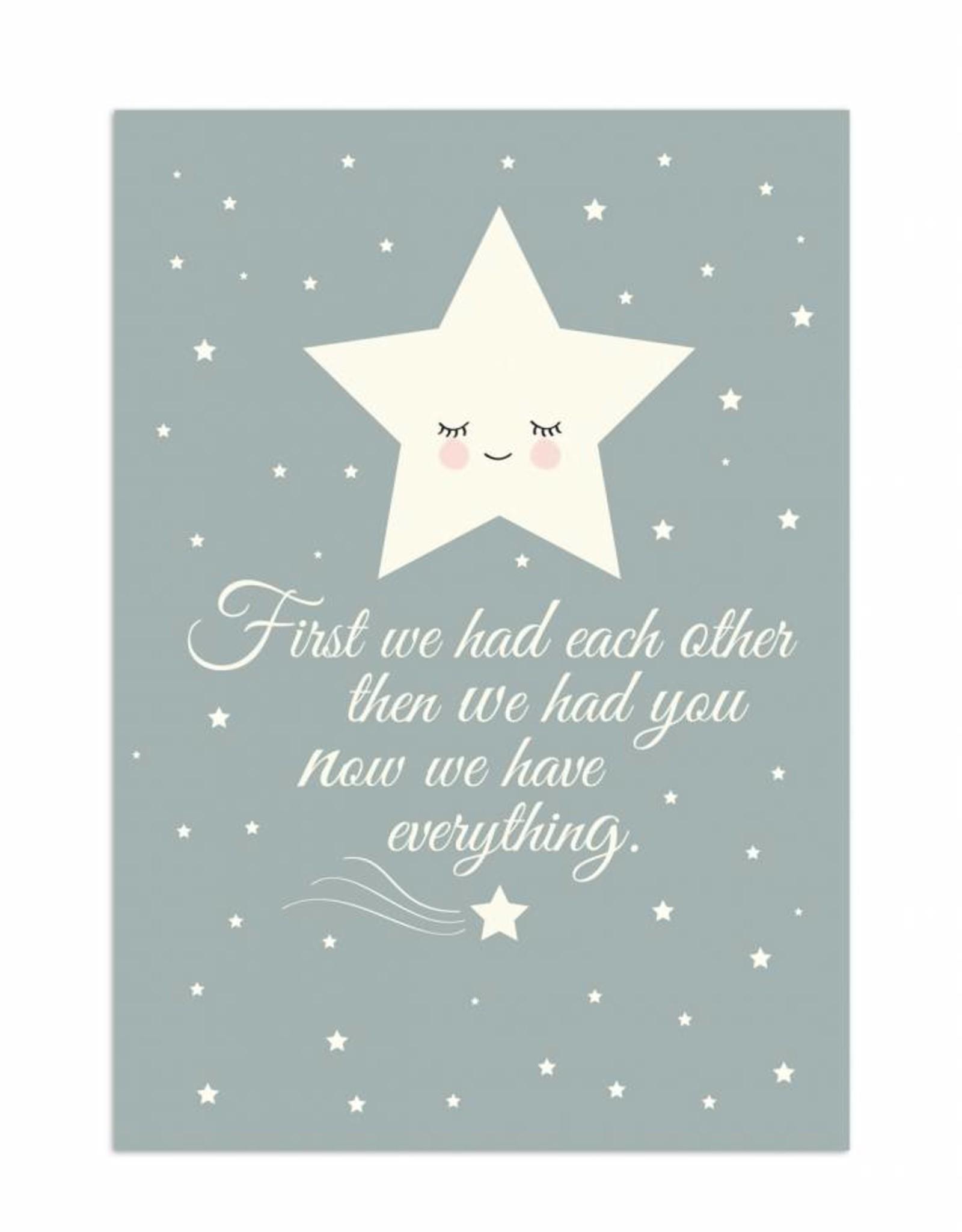 Poster für's Kinderzimmer - Stern