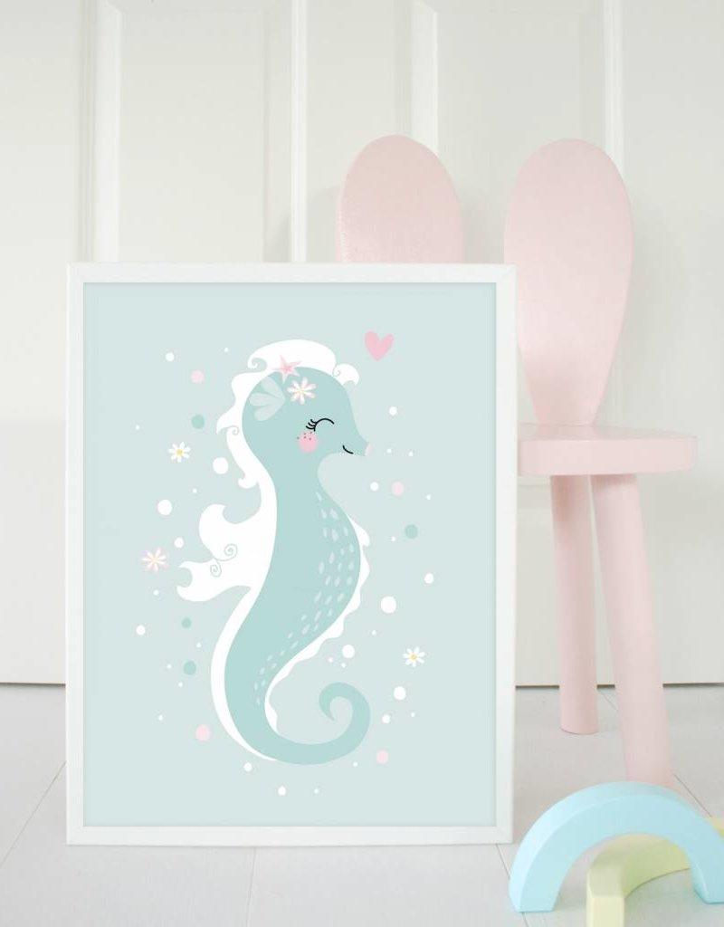 Poster für's Kinderzimmer - Kleine Meerjungfrau - Copy