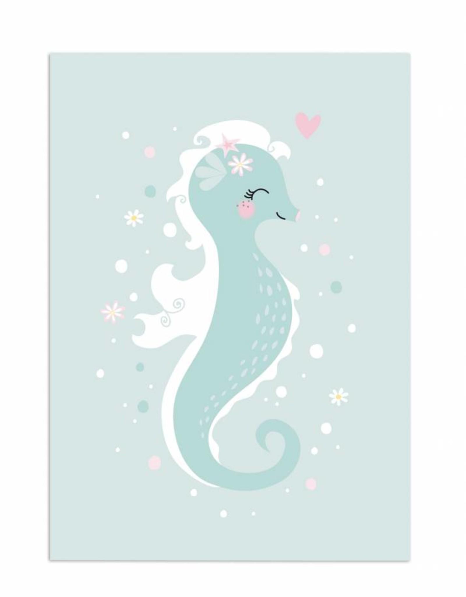 print Little Seahorse