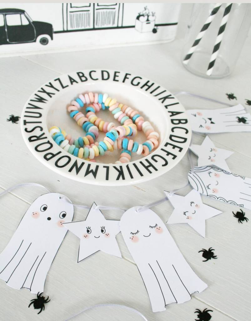 DIY Halloween Girlande by Mimirella