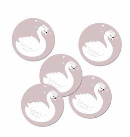 Sticker Schwanenmädchen