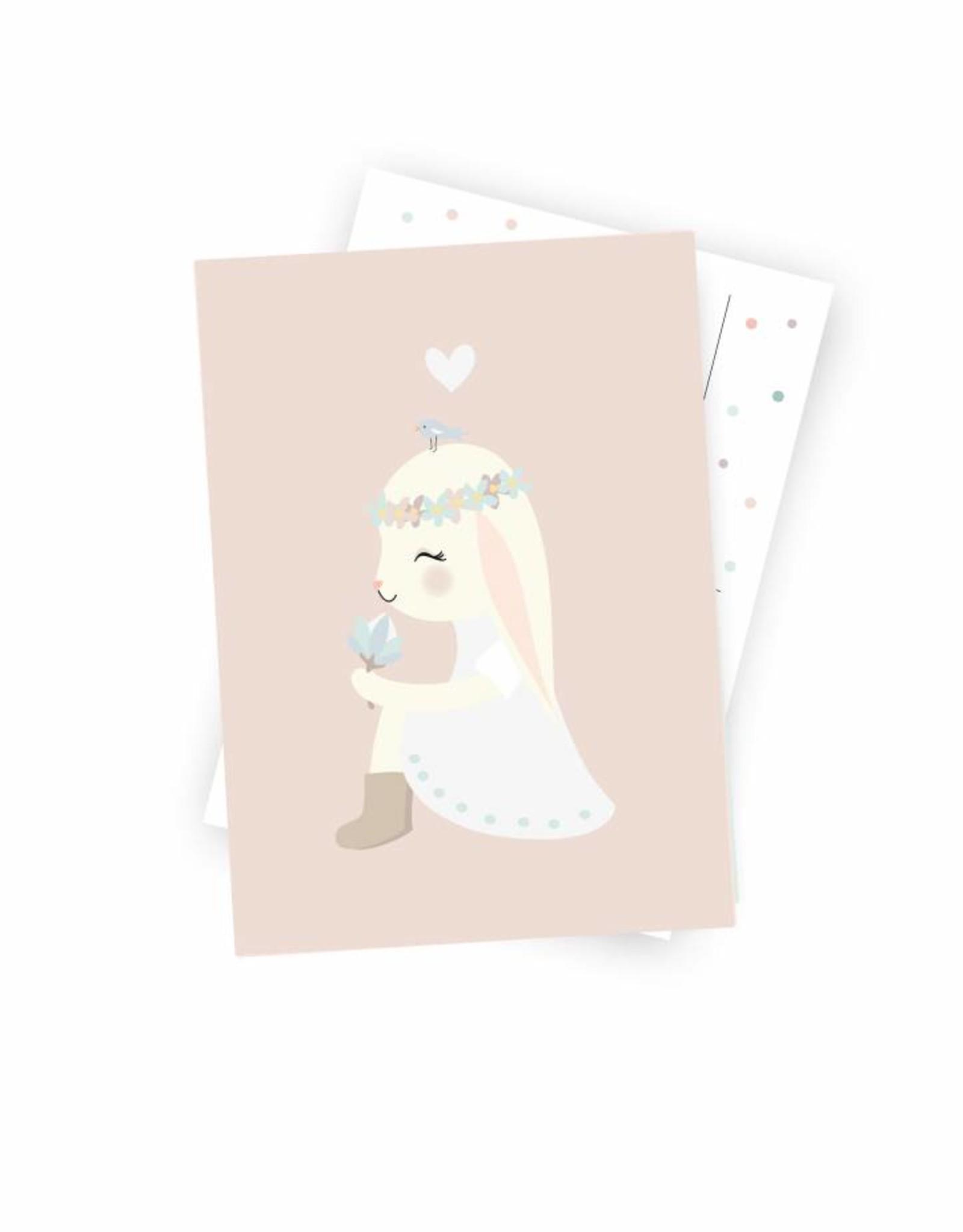 """Postcard  """"Miss Hanni"""""""