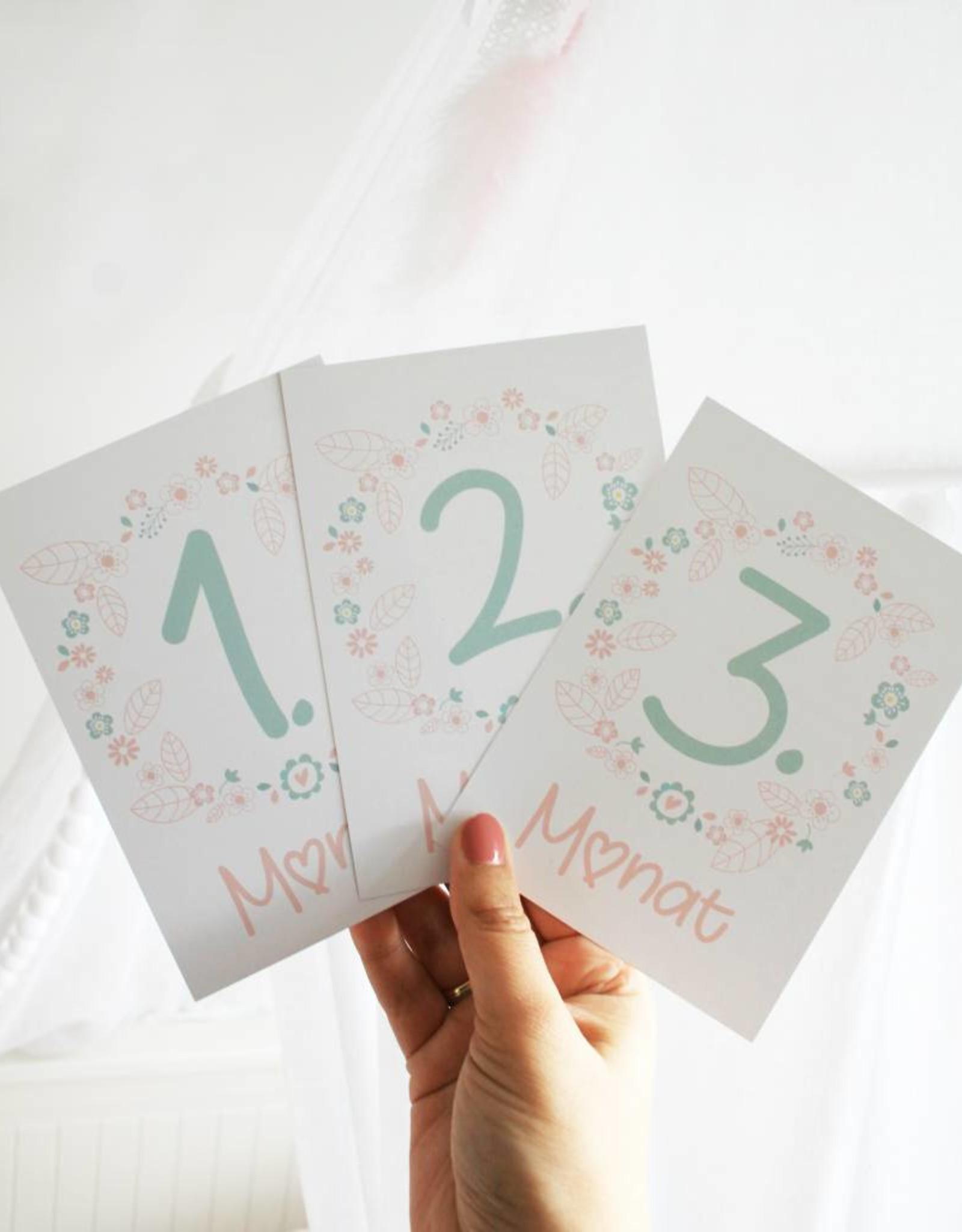 Meilensteinkarten für deine Schwangerschaft