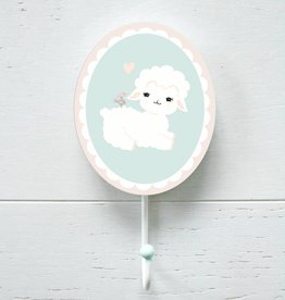 Wall hook Little Wooly Lamb
