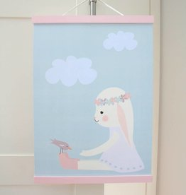 Poster Hanger pink pastell