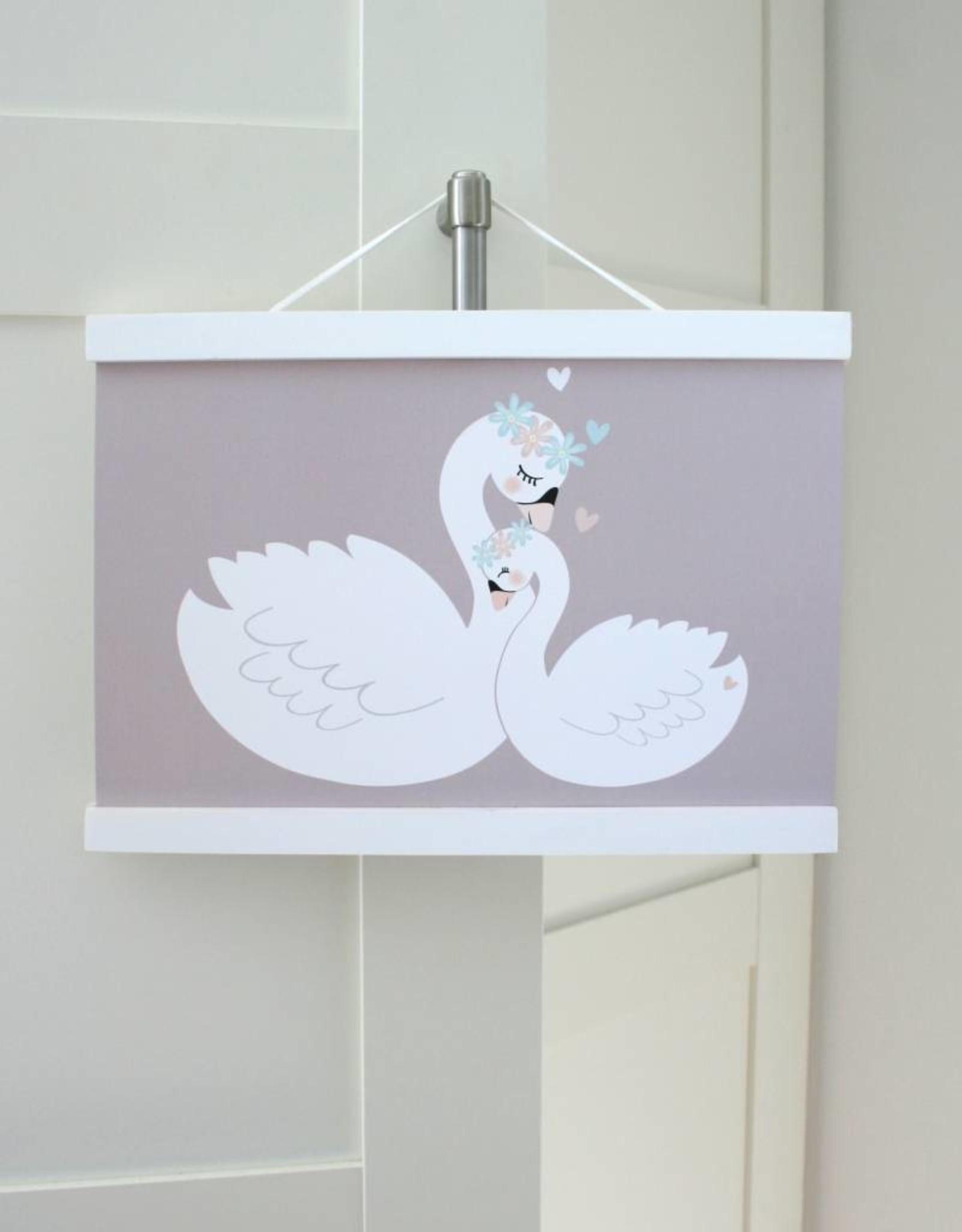 Bilderleiste weiß - passend für A3 Formate