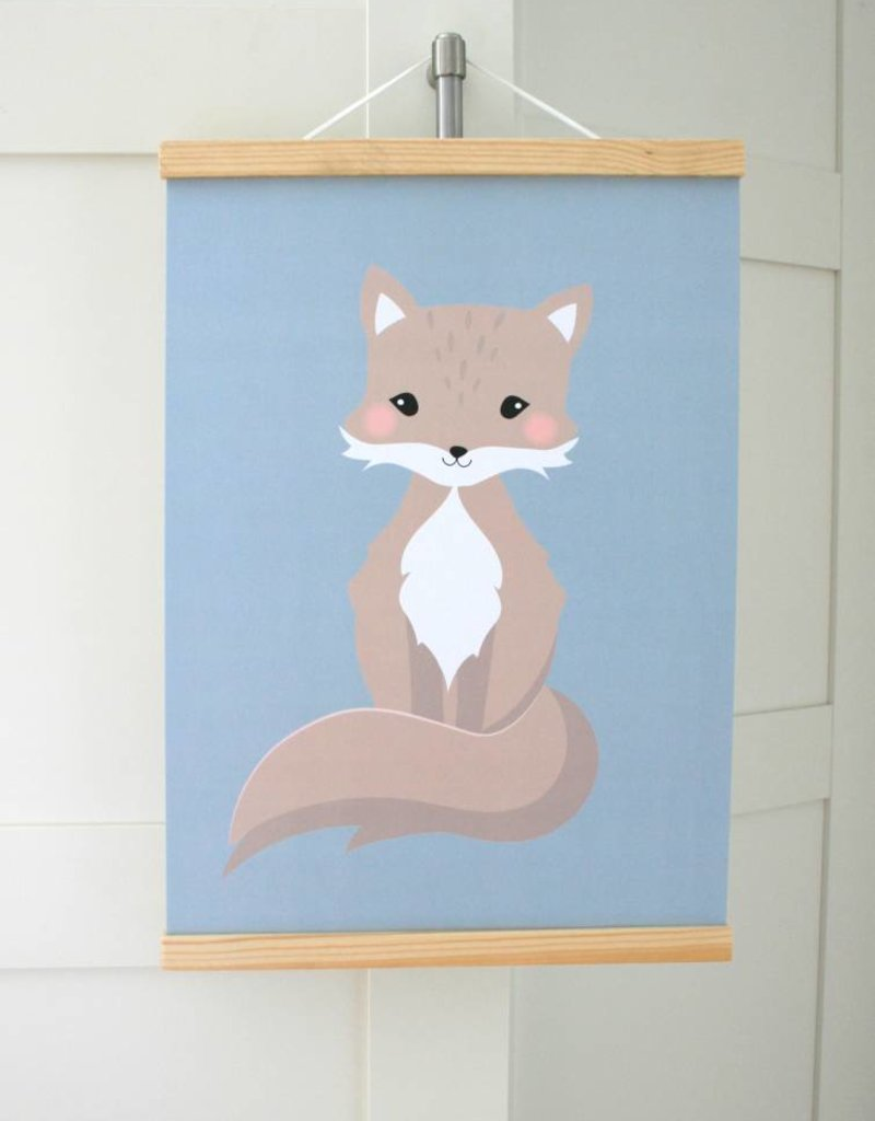 Poster Hanger  pink pastell - suitable for A3 format