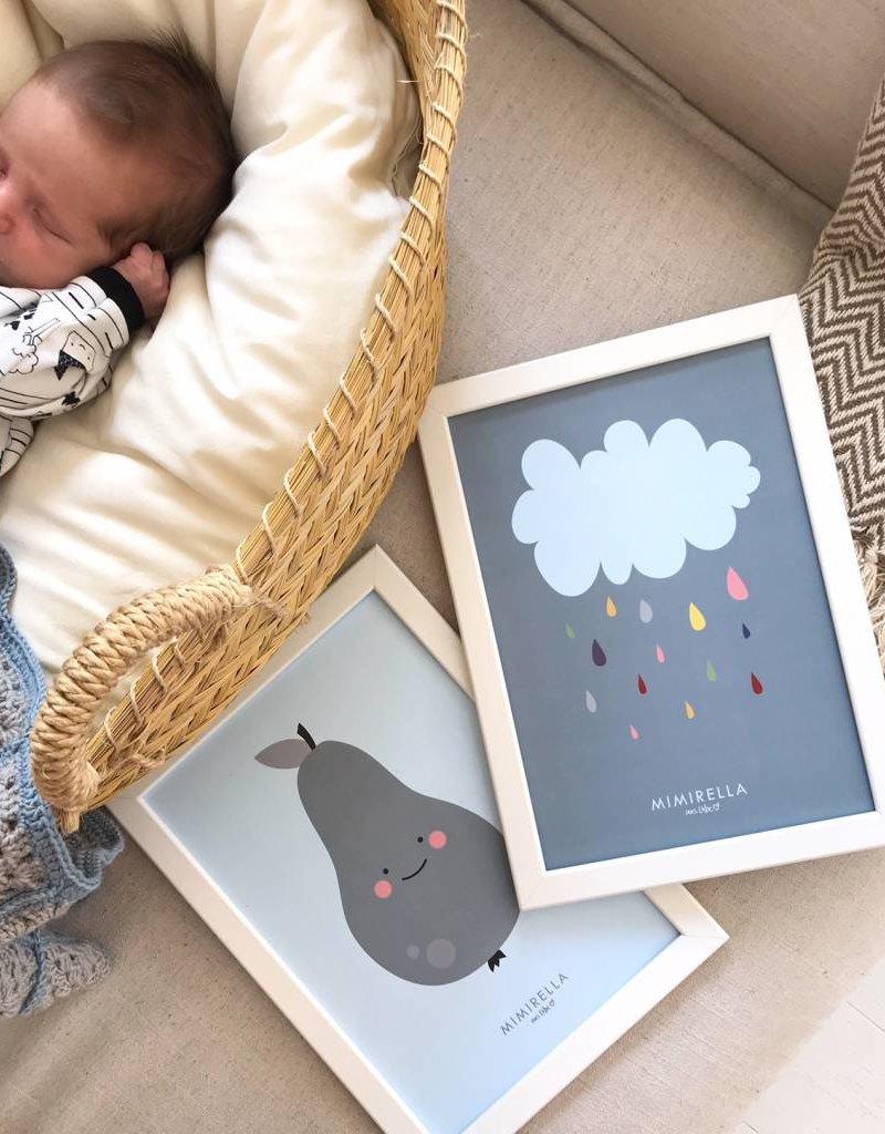 Poster Kleine Wolke A4