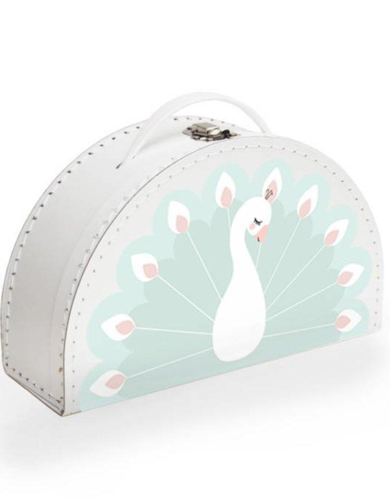 kids suitcase peacock - Design by Mimirella