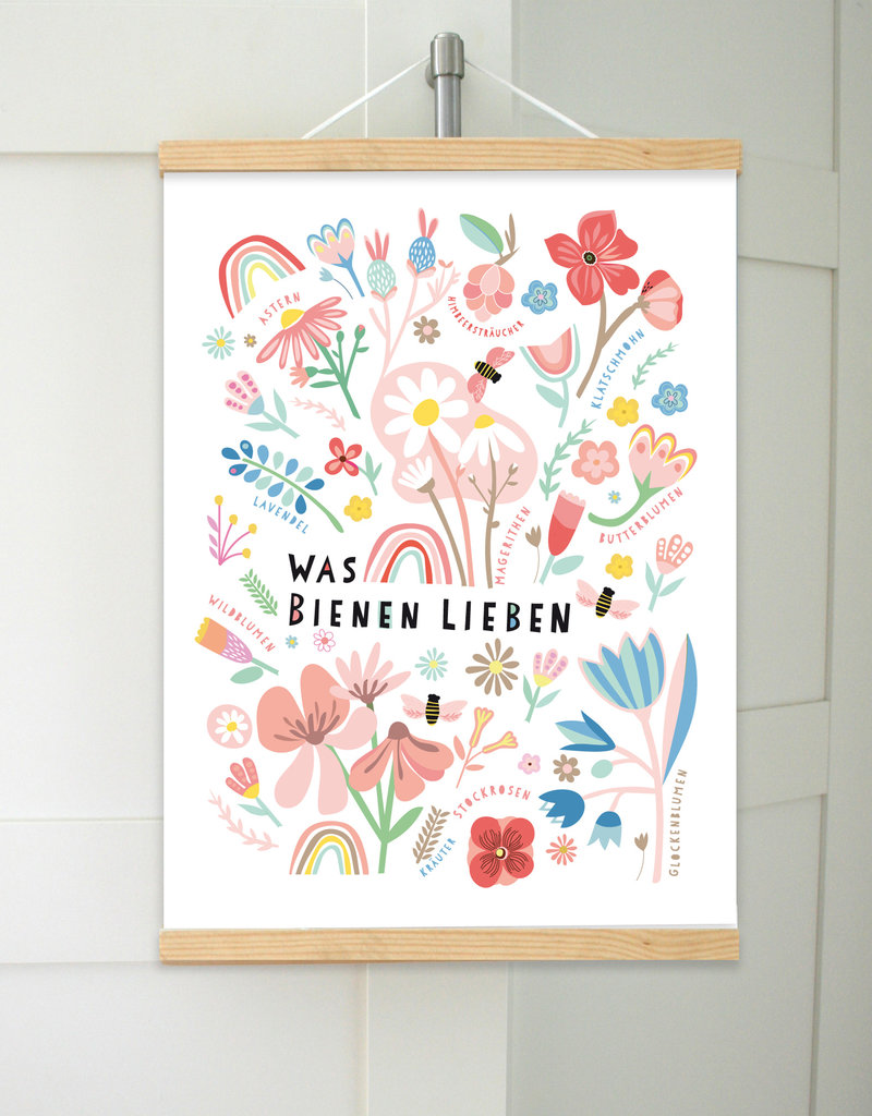 What Bees Love - Print
