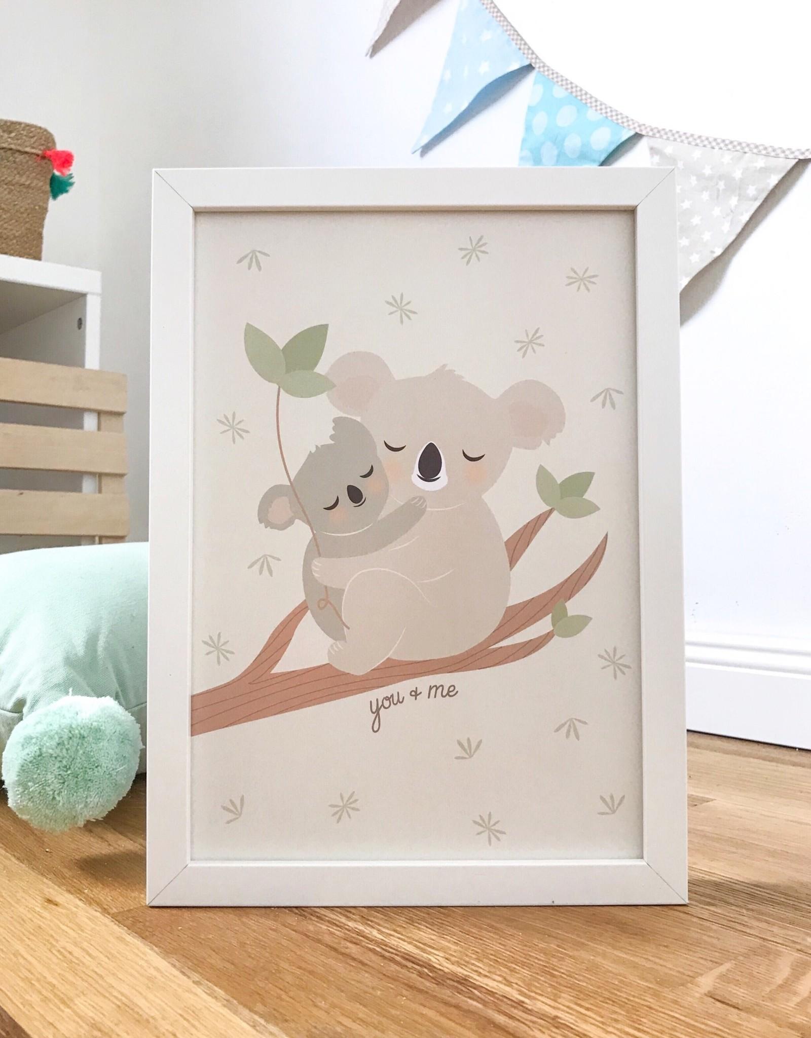 Poster für's Kinderzimmer - Mama Koala