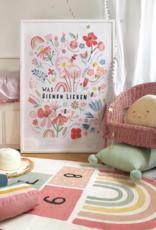 Was Bienen lieben - Poster