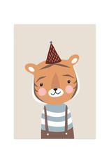 Poster für's Kinderzimmer - Kleiner Tiger