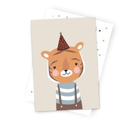 Postcard  Little Tiger