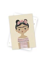 Postkarte Frida
