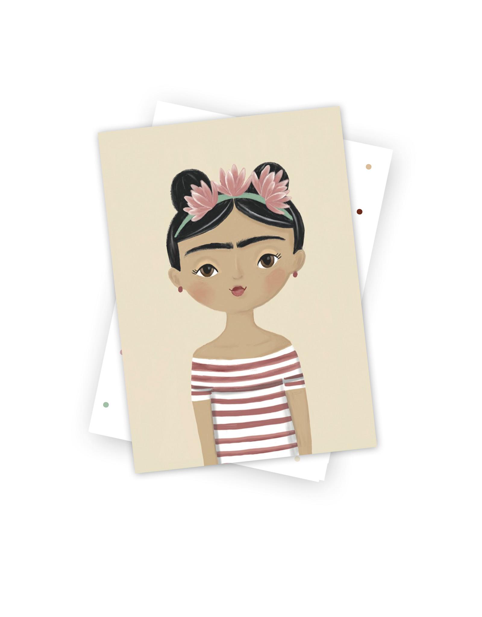 Postkarte Kleine Greta